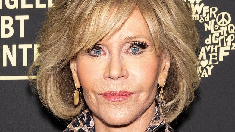 Jane Fonda posing