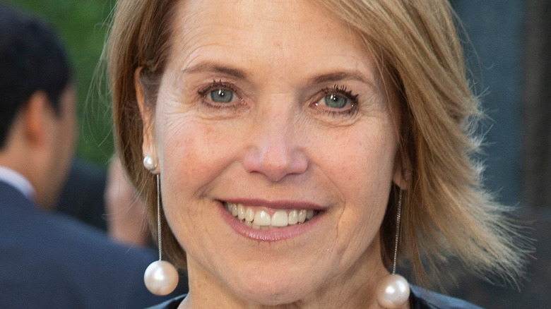 Katie Couric keeps it casual at an event for The Highline