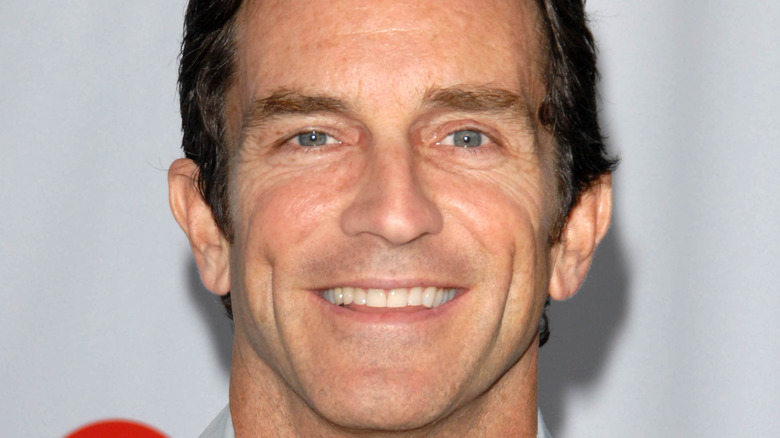 Jeff Probst on the red carpet