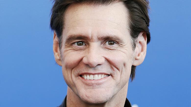 Jim Carrey smiles in Venice