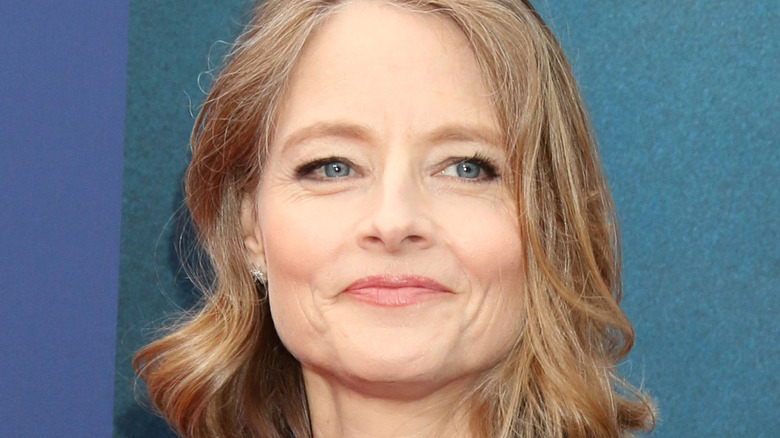 Jodie Foster smiling at an event