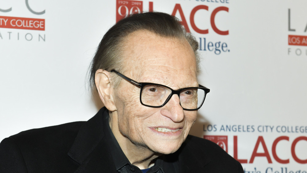 Larry King at an event