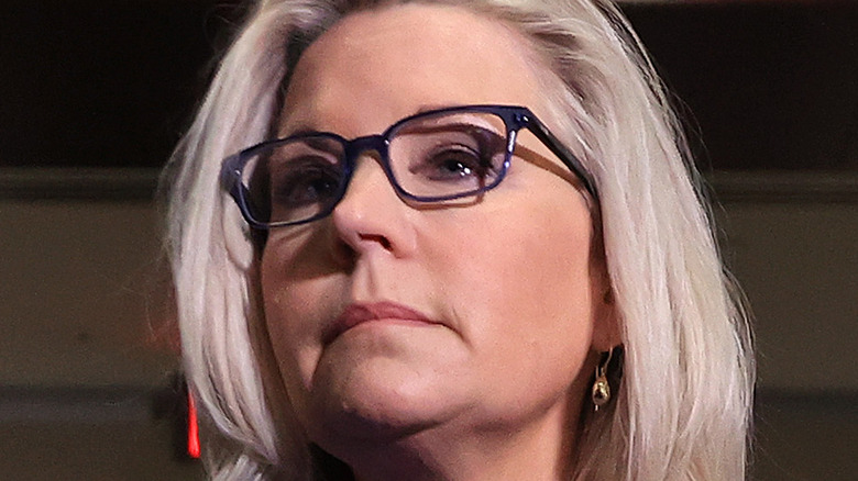 Liz Cheney after she was ousted as GOP Conference Chair