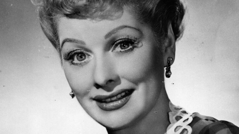 Lucille Ball black and white