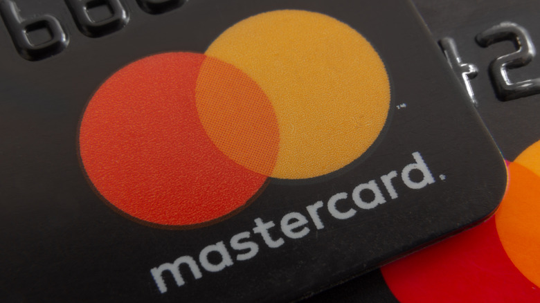 Two Mastercards stacked on each other