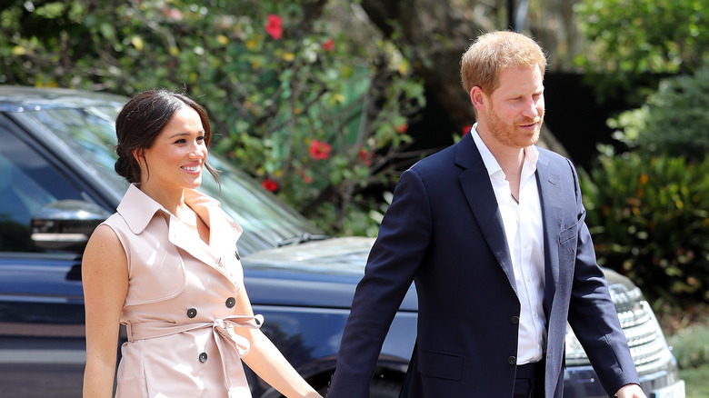 harry and meghan in africa 1
