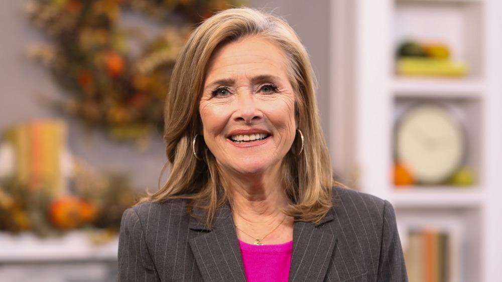 Meredith Vieira smiling