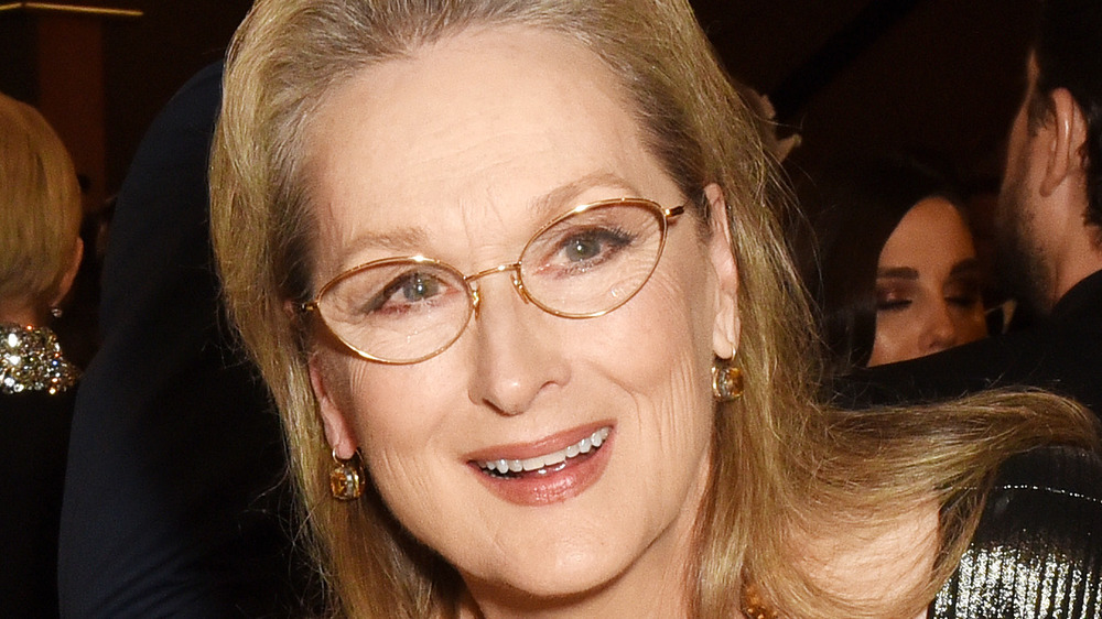 Meryl Streep in glasses