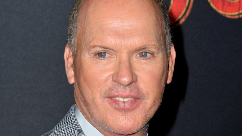 Michael Keaton on a red carpet