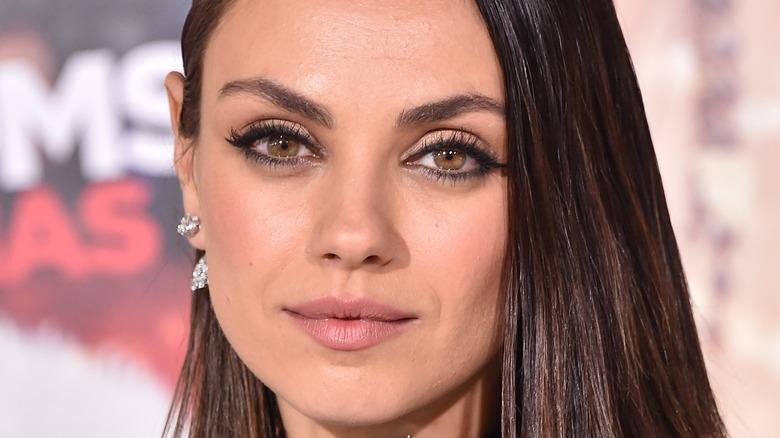 Mila Kunis up close