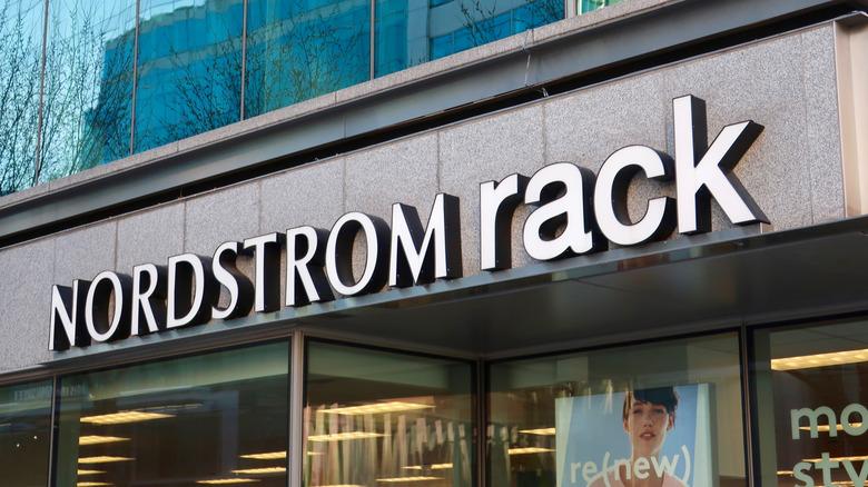 Nordstrom Rack sign