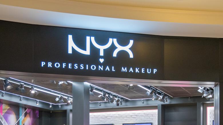 NYX Cosmetics storefront
