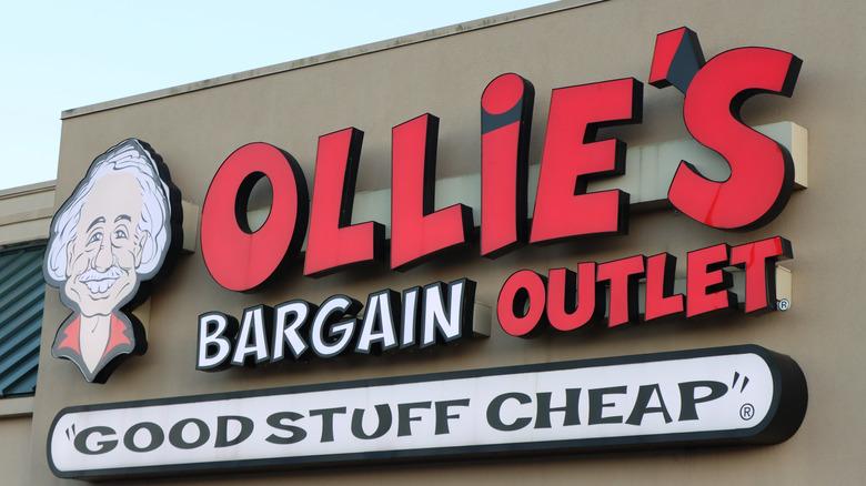 Ollie's Bargain Outlet sign