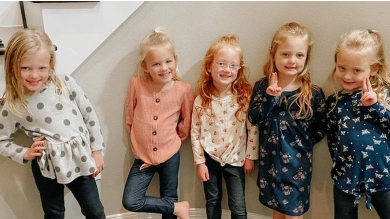 The Busby quintuplets