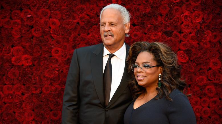 Oprah and Stedman in Atlanta, 2019