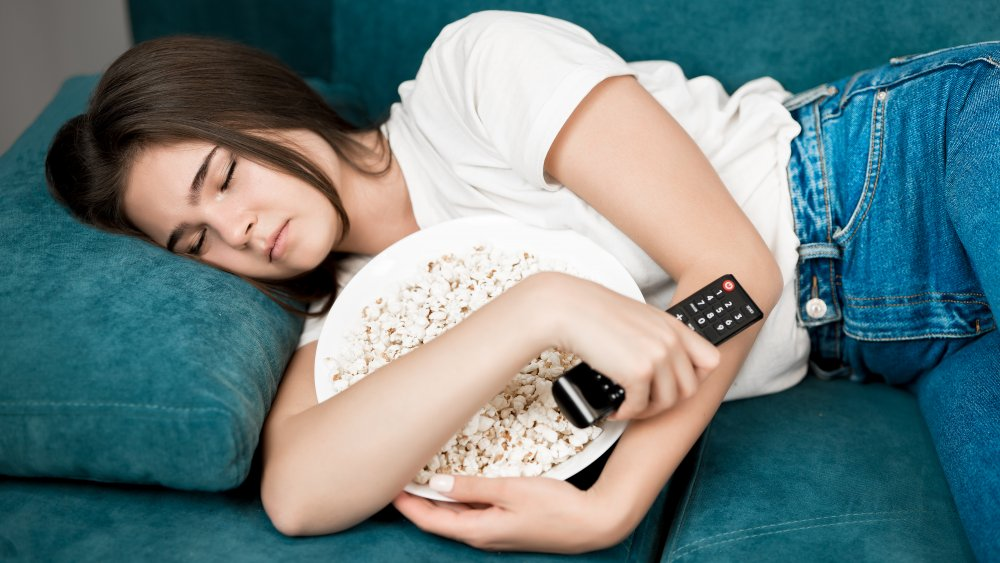 Woman in danger of eating while asleep