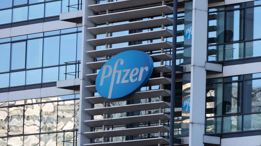 Pfizer signage