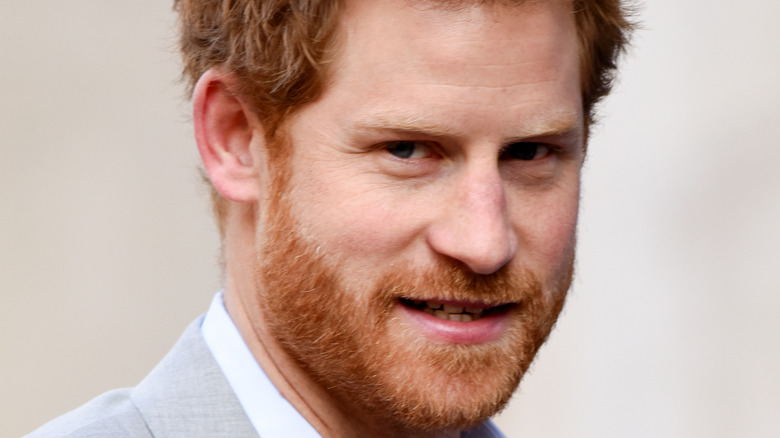 Prince Harry at an event