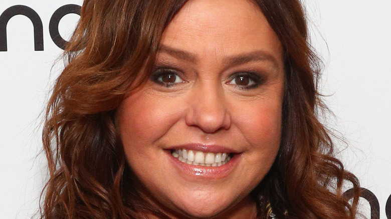 Rachael Ray smiling on red carpet in 2020