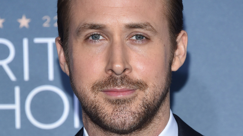 Ryan Gosling poses for a picture
