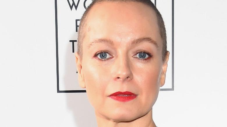 Samantha Morton on the red carpet