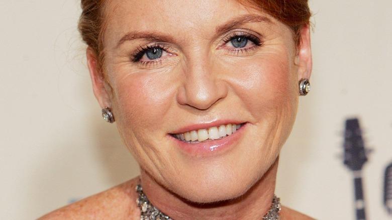 Sarah Ferguson smiling close-up