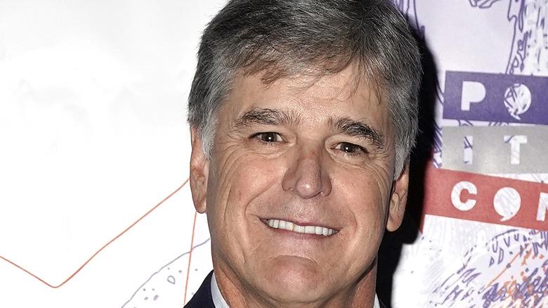 Sean Hannity smiling