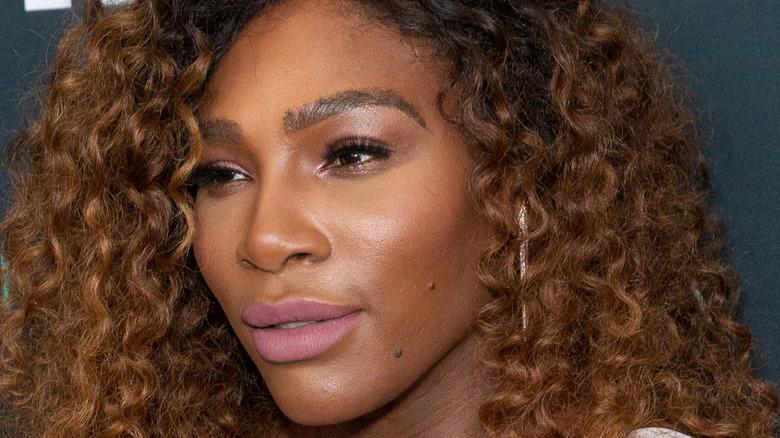 Serena Williams posing