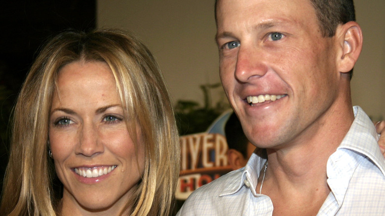 """Sheryl Crow and Lance Armstrong at the 2004 premiere of """"Meet The Fockers"""""""