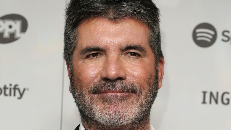 Simon Cowell at event