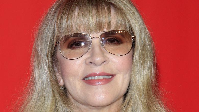 Stevie Nicks on the red carpet