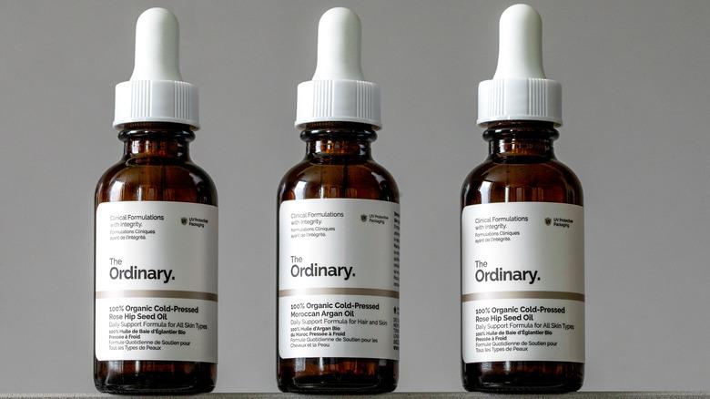 The Ordinary's face oils