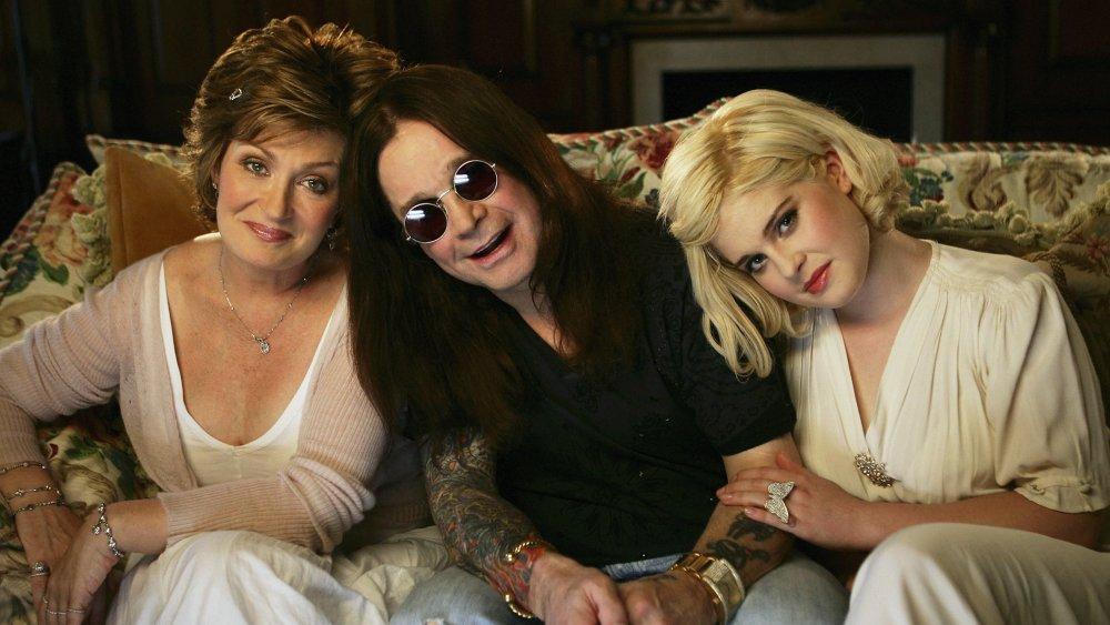 Ozzy, Kelly, and Sharon Osbourne