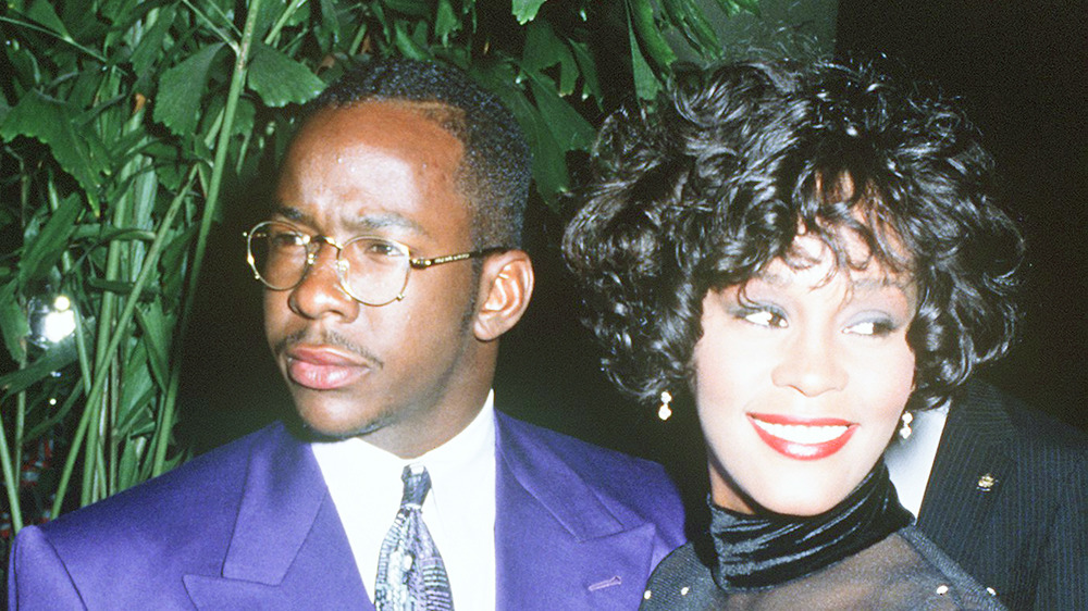 Booby Brown and Whitney Houston