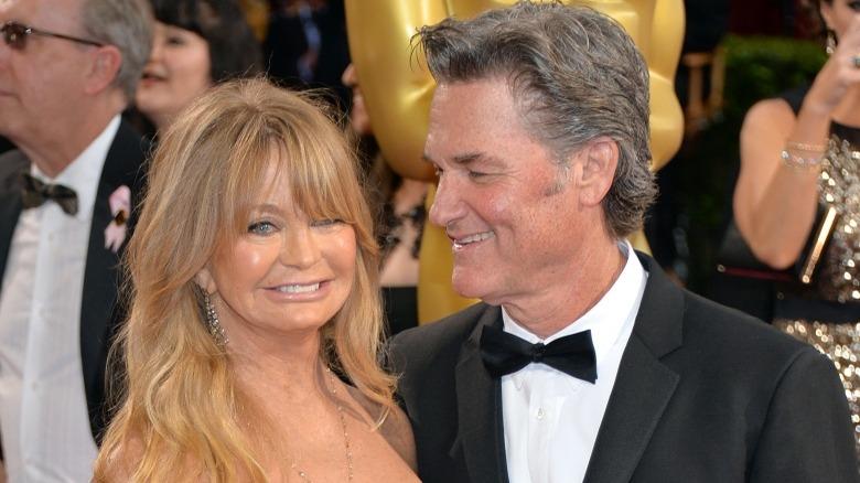 Kurt Russell Goldie Hawn not married
