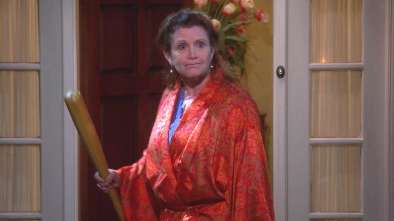Carrie Fisher cameo in TBBT