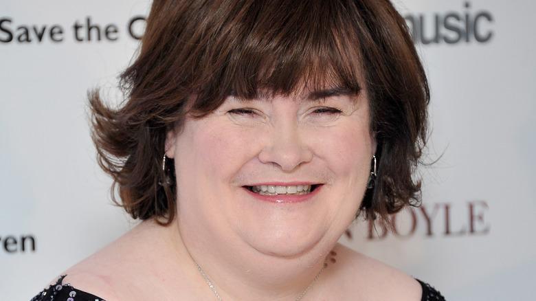 Susan Boyle close-up