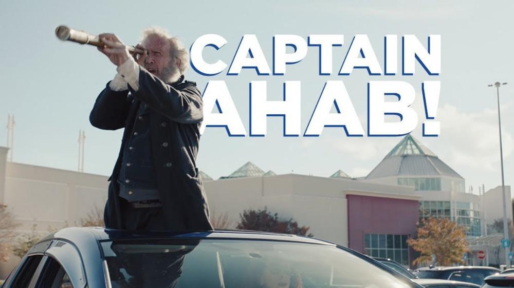 Captain Ahab GEICO commercial