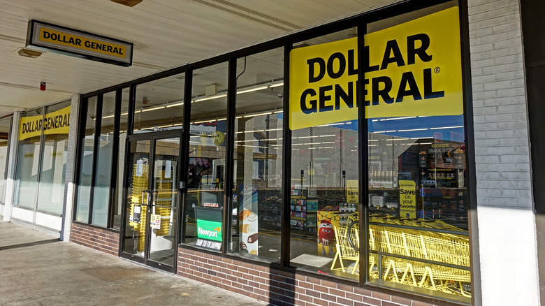 Entrance to Dollar General