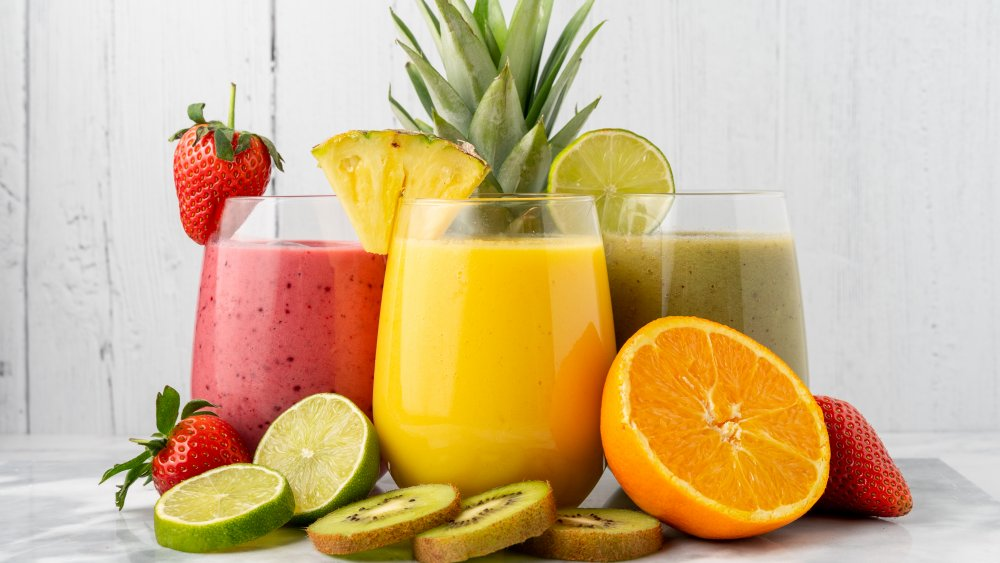 smoothies and smoothie ingredients