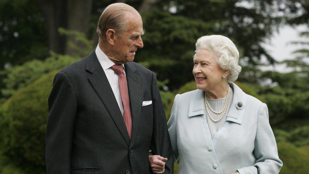 Queen Elizabeth and Prince Phillip