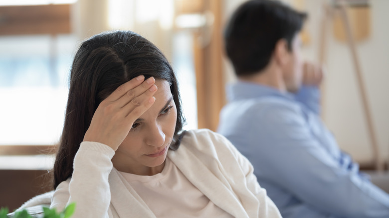 Woman scared of committing to man