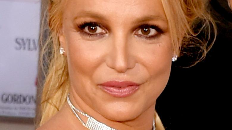 Britney Spears updo