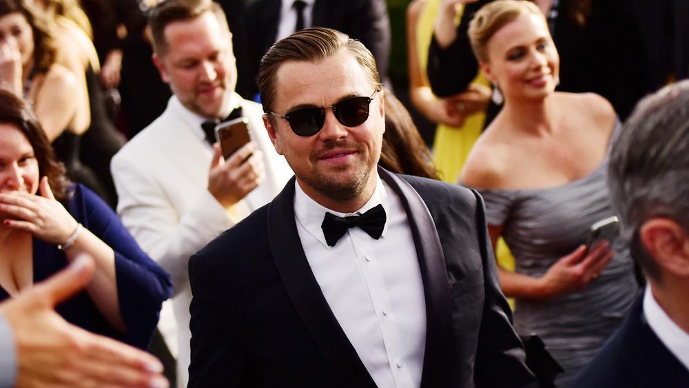 Leonardo DiCaprio at awards show