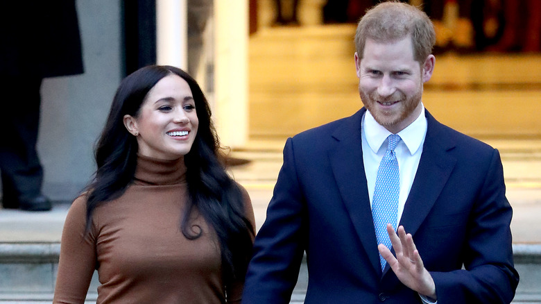 Duke and Duchess of Sussex Prince Harry and Meghan Markle