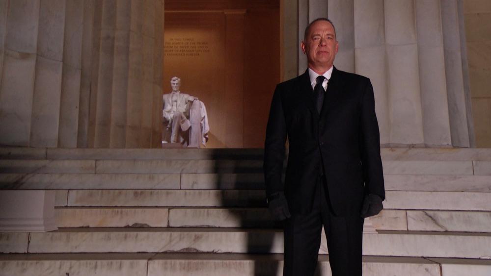 Tom Hanks at Lincoln Memorial