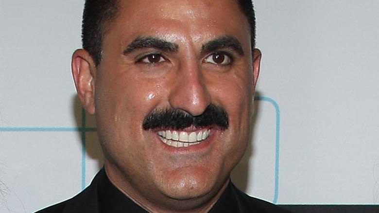 Reza Faraha smiling