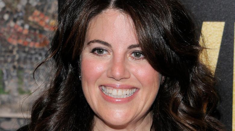 Monica Lewinsky smiling