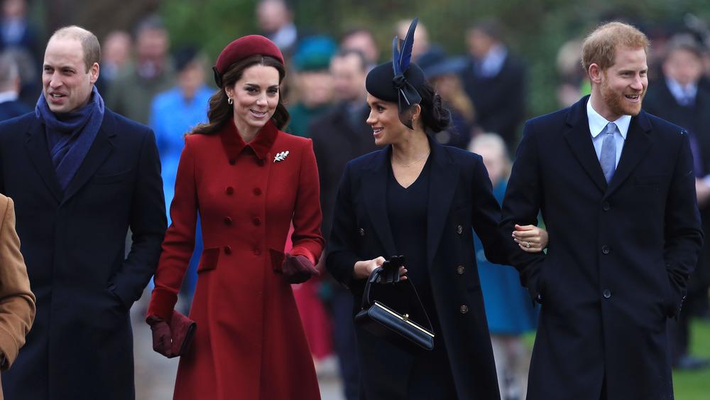 The royal family at Christmas