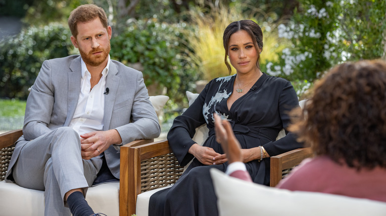 Meghan and Harry sit down with Oprah